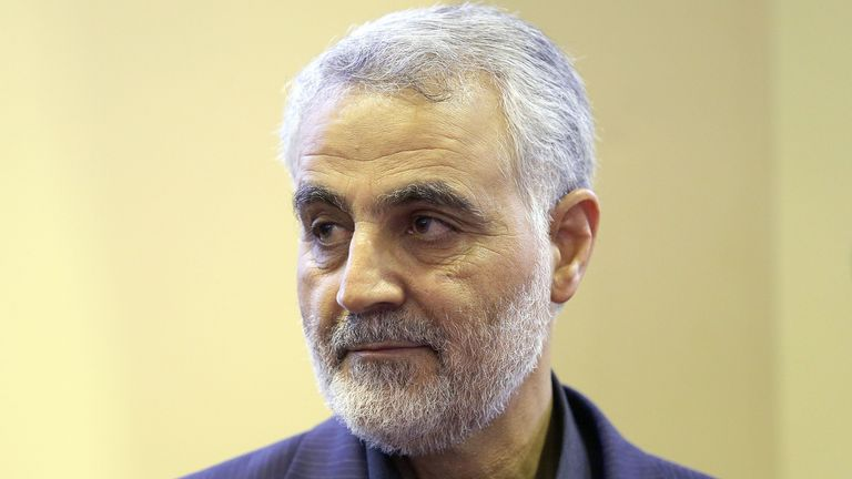 Iranian Revolutionary Guard's Quds Force, Gen. Qassem Suleimani