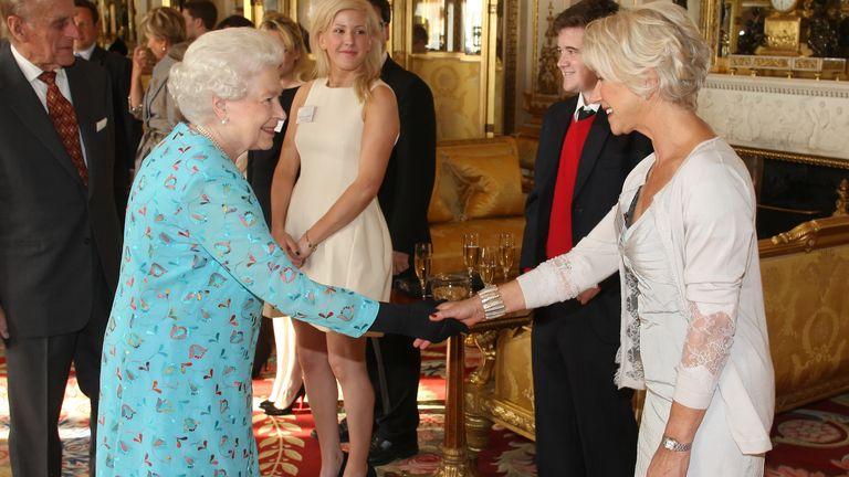 Helen Mirren won an Oscar for her role as Queen Elizabeth II in 2006 film The Queen.