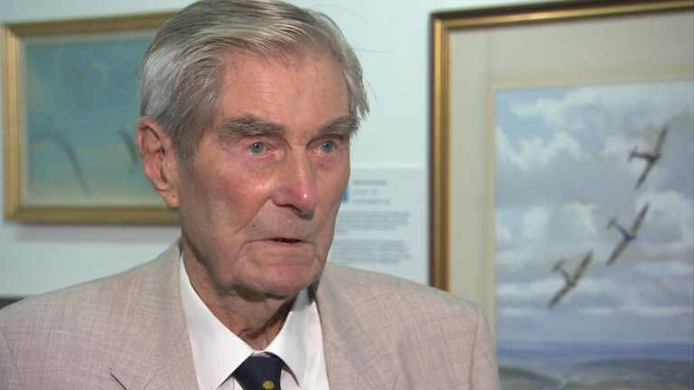 Battle of Britain veteran Wing Commander Paul Farnes, the last fighter pilot 'ace' has died aged 101
