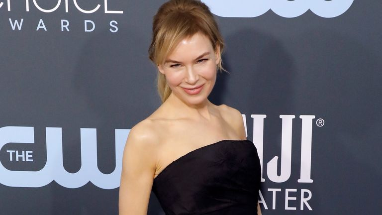 Renee Zellweger was named best actress for Judy at the Critics' Choice Awards