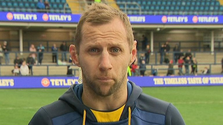 Rob Burrow was recently diagnosed with motor neurone disease