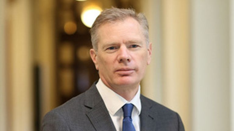 The UK's ambassador to Iran, Rob Macaire. Pic: Foreign Office