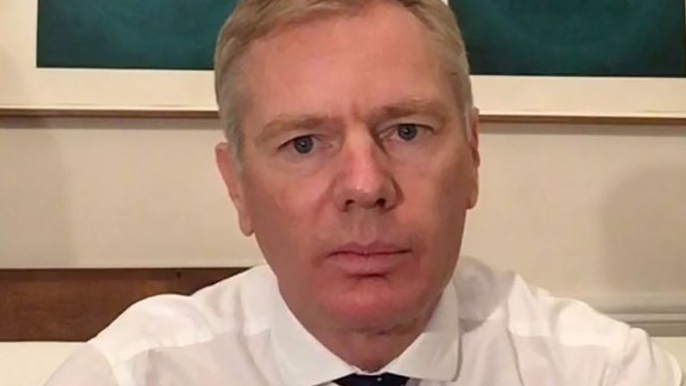 Rob Macaire, ambassador of the United Kingdom in Iran