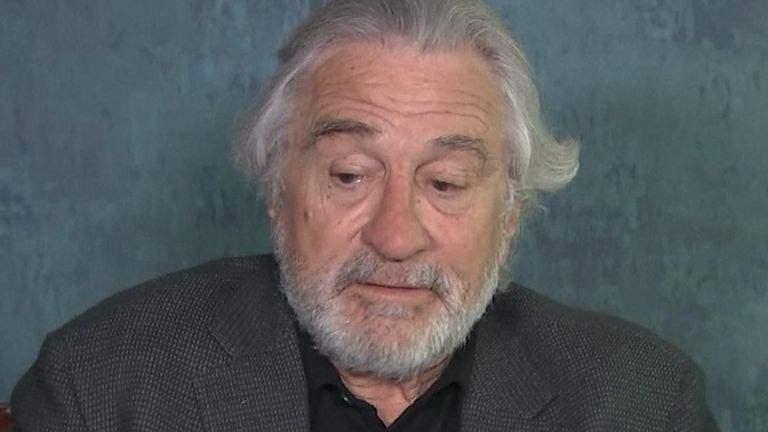 Robert De Niro has 'no words' to describe tragic death of Kobe Bryant