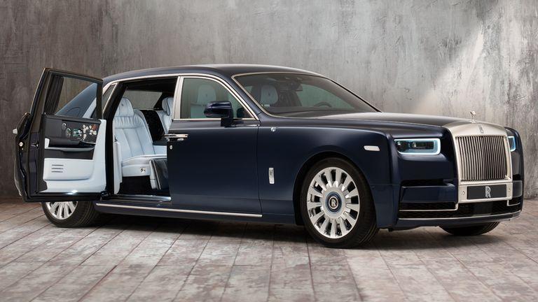 The Rolls Royce Phantom. Pic: R-RMC