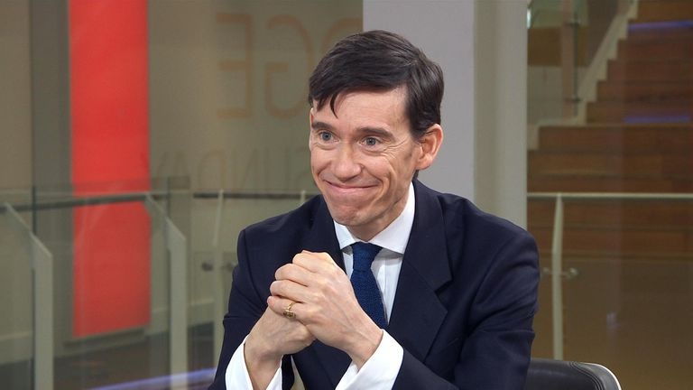 Mayor of London candidate Rory Stewart.