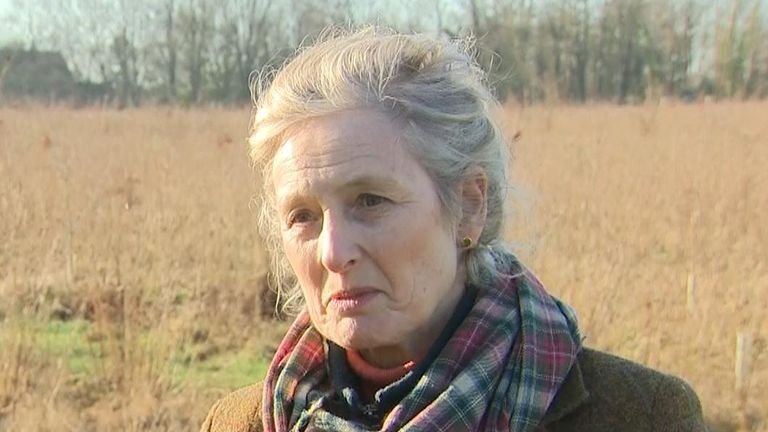 Rosalind Forbes Adam would like to see rewilding take place in the UK