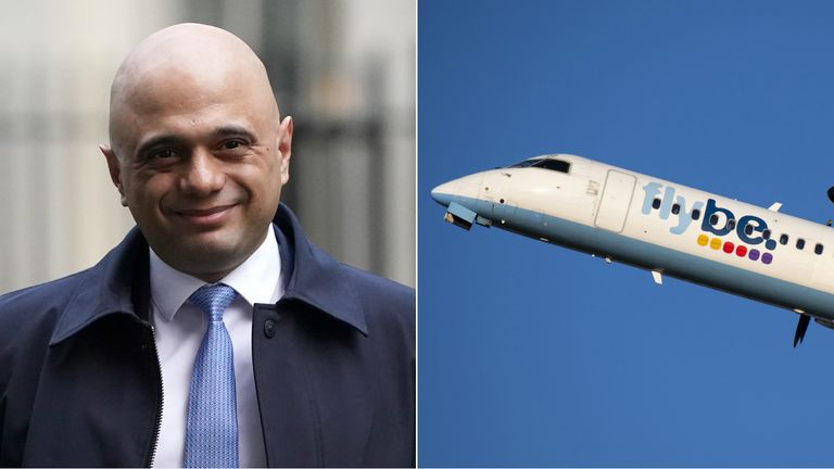 Sajid Javid is expected to write to Michael O'Leary