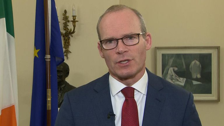 Simon Coveney said there is still much to do before Brexit is actually done