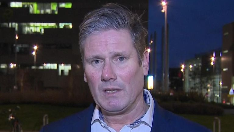 Sir Keir Starmer says divisions in the Labour Party need to be healed
