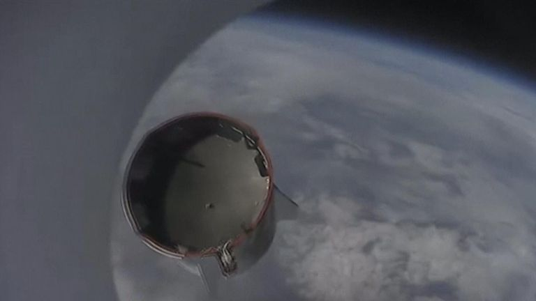 SpaceX successfully completes key test of its Crew Dragon human spacecraft.