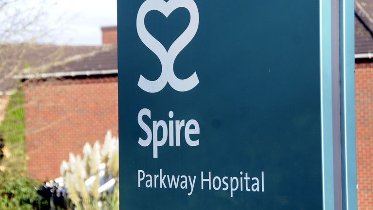 Spire Parkway Hospital where Habib Rahman is alleged to have performed unnecessary or inappropriate shoulder surgeries