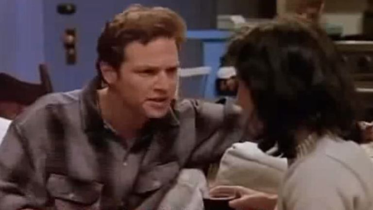 Stan Kirsch played Monica's date in the first season of Friends. Pic: Warner Bros