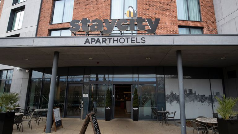 On Wednesday night, the StayCity apartment-hotel in York was put on lockdown