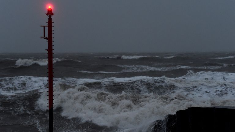Storm Brendan brought strong winds and heavy rain to much of the UK