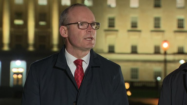 Irish Deputy PM, Simon Coveney said they had 'worked tirelessly through some extremely complicated issues'