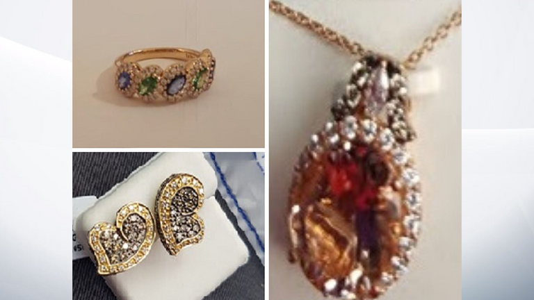 The men stole various items of jewellery from Mr Savoie. Pic: Surrey Police