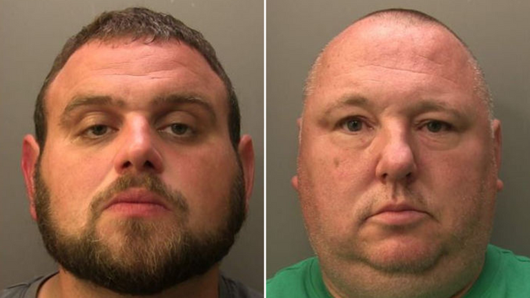 Oscar Hicks and Lee Gardner. Pic: Surrey Police
