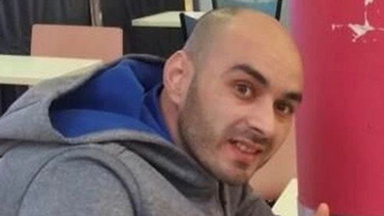 Takieddine Boudhane was stabbed to death on Friday evening. Pic: Met Police