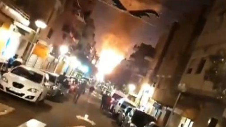 A chemical plant in Spain has exploded