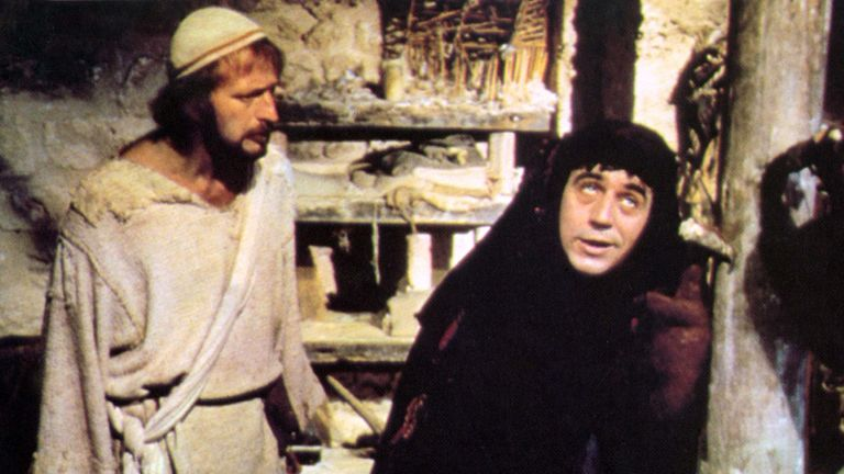 Monty Python's Life Of Brian, Graham Chapman, Terry Jones in 1979