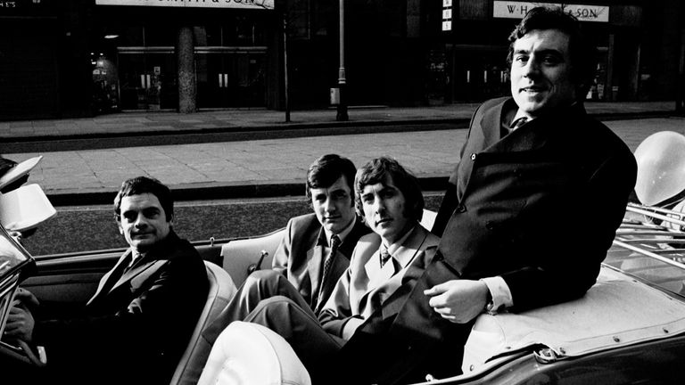 'Do Not Adjust Your Set' - David Jason, Michael Palin, Eric Idle and Terry Jones, 1967