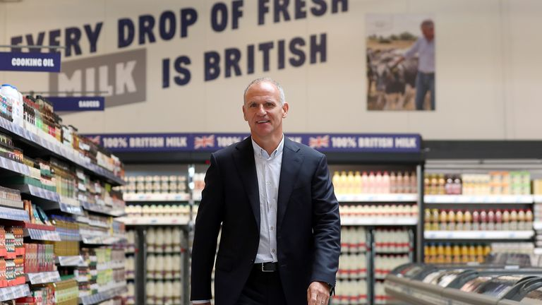 Tesco boss Dave Lewis says the group is removing all unnecessary and non-recyclable plastic