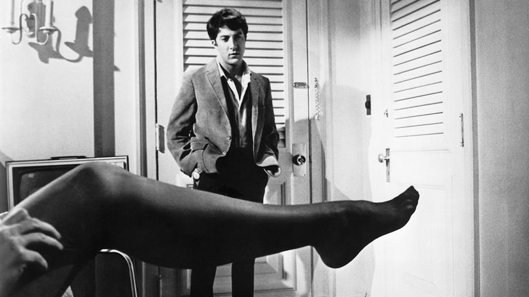 The Graduate, starring Dustin Hoffman