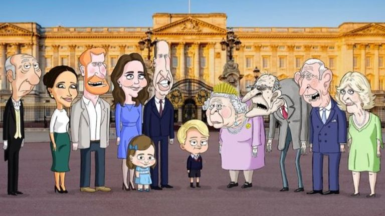 The Prince will offer a spoof take on royal life from Prince George's point of view. Pic: HBO Max