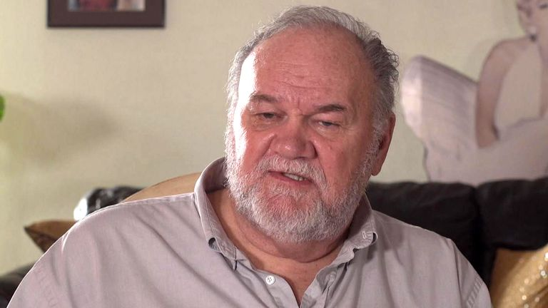 Thomas Markle fears he will never see his daughter again