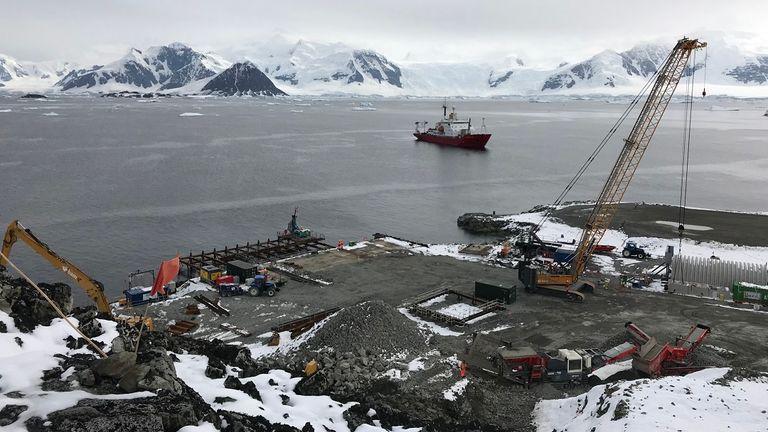 Base de prospection de l'Antarctique britannique, Rothera