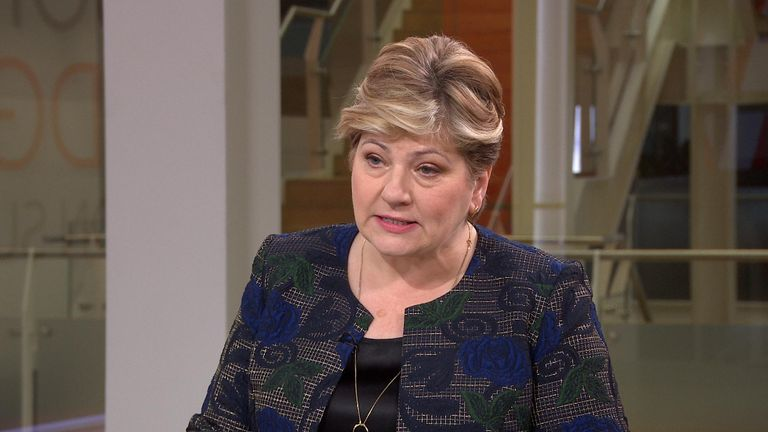 Shadow foreign secretary Emily Thornberry has said the UK could be heading towards war after the US assassinated Soleimani