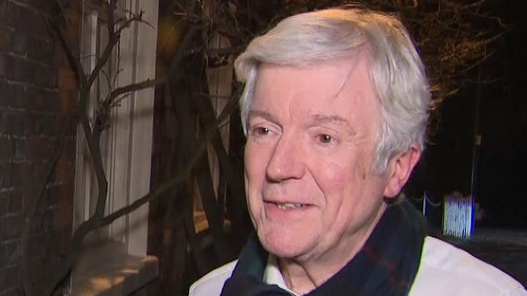 Lord Tony Hall is stepping down as director-general of the BBC after seven years and he told Sky that 'it was always going to be difficult to leave'.