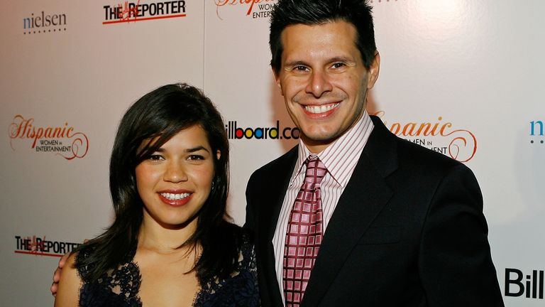 Ugly Betty star America Ferrera and show creator Silvio Horta