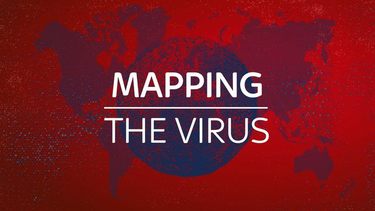 Mapping the virus