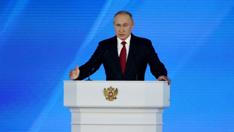 Mr Putin has outlined an array of possible constitutional reforms