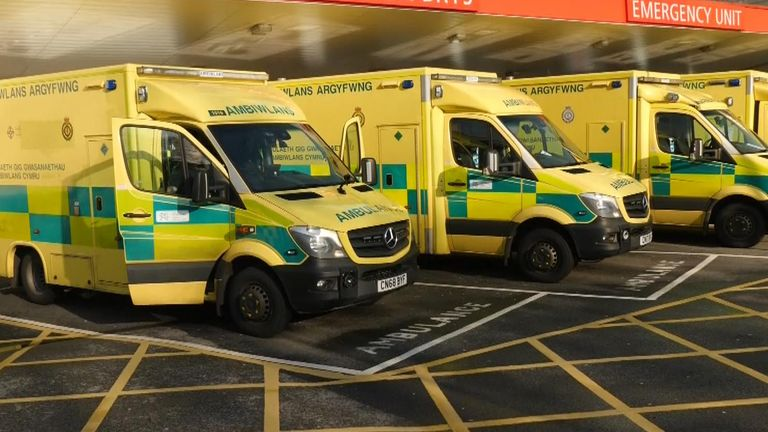 Figures for ambulance handover delays are published next week and expected to be the worst for December