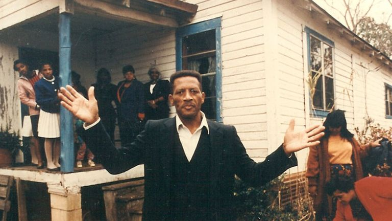 Walter McMillian, who was sentenced to death after being wrongly convicted of murder in Alabama. Pic: EJI