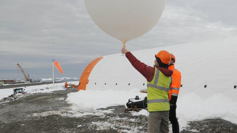 Ballon météo