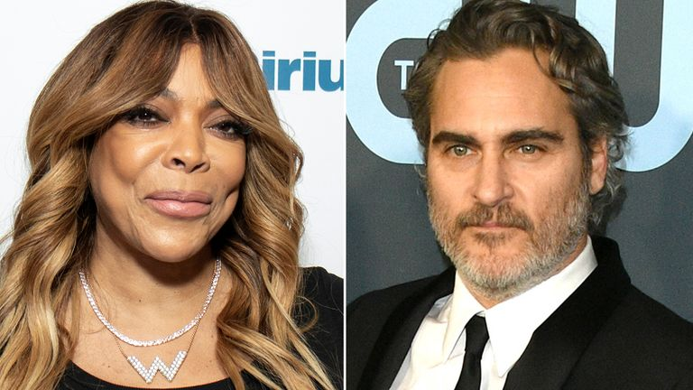 Wendy Williams and Joaquin Phoenix