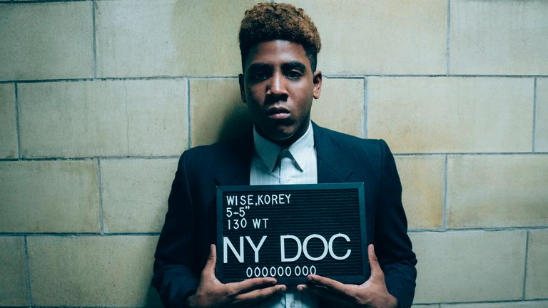 Jharrel Jerome as Korey Wise in When They See Us. Pic: Atsushi Nishijima/Netflix