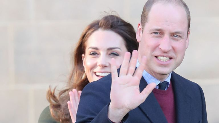 The royal couple were back on royal duty in Bradford in West Yorkshire