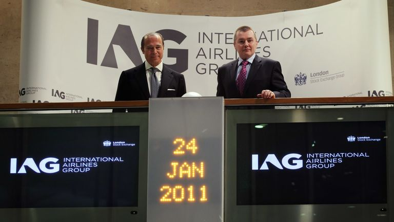 IAG shares first began trading in 2011