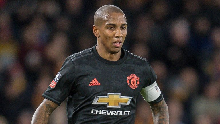 'We've got players coming through': Solskjær explains Ashley Young's United exit
