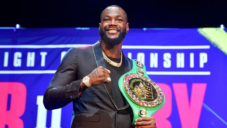 No Deontay Wilder-Anthony Joshua talks, insists Tyson Fury's promoter Frank Warren