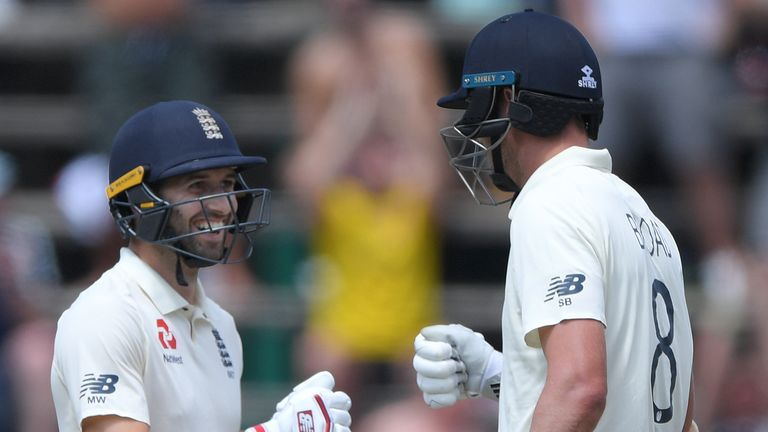 Mark Wood and Stuart Broad smashed the record 10th-wicket stand at Wanderers as they blasted 82 from 50 balls against South Africa.