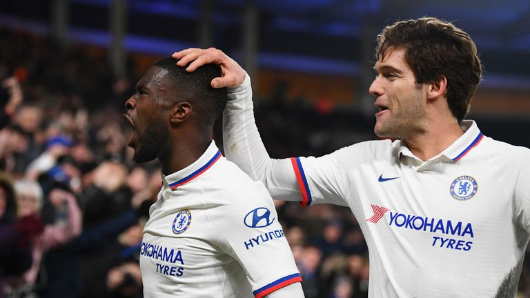 Fikayo Tomori's second goal of the season helped send Chelsea through