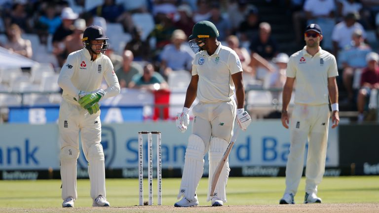 Jos Buttler fined for verbally abusing Vernon Philander during Cape Town test