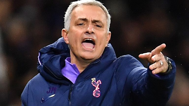 Jose Mourinho confirms Spurs are in the market for a striker