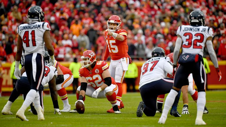 Houston Texans 31-51 Jefes de Kansas City: Patrick Mahomes lanza cinco touchdowns en un gran regreso | Noticias de la NFL 2